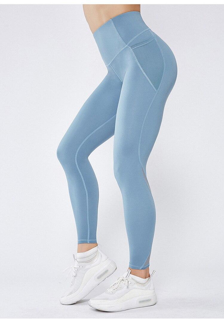 Γυναικείο αθλητικό ψηλόμεσο εφαρμοστό κολάν για το γυμναστήριο και τη γιόγκα msow