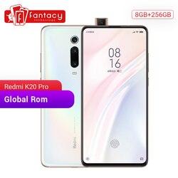 ROM global Xiaomi Redmi K20 Pro 8GB RAM 256GB ROM Snapdragon 855 Octa Core Telemóvel 6.39