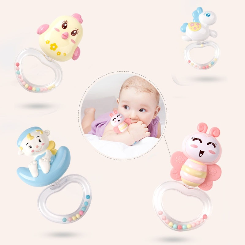Baby Bett Glocke Rassel Spielzeug 0 18 Monate Musik Nacht Glocke Projektion Infant Komfort Spielzeug baby spielzeug - 5
