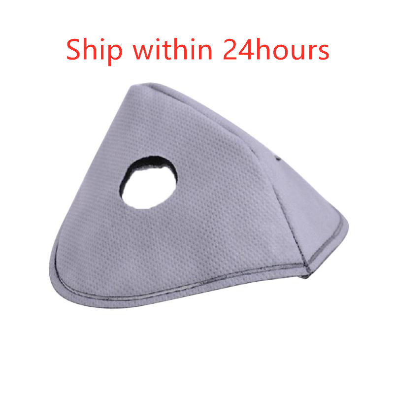 1PC Cycling Mask Inner Filter Element Removable Activated Carbon Filtration Breathing PM2.5 Liner Anti-dust Protect Health Mask
