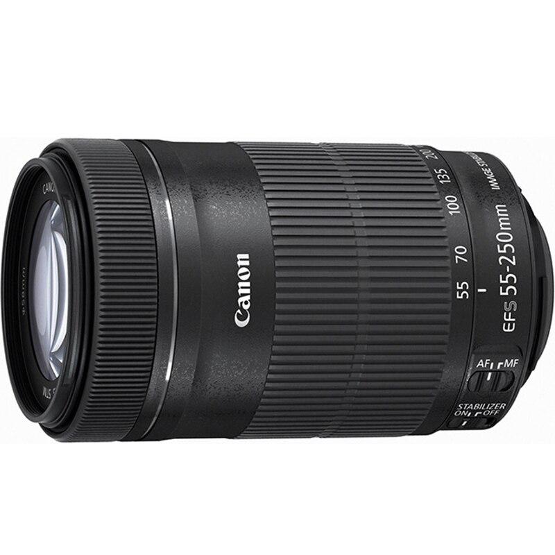 Б/у объектив Canon EF S 55 250 мм f/4 5,6 IS II для APS C камер