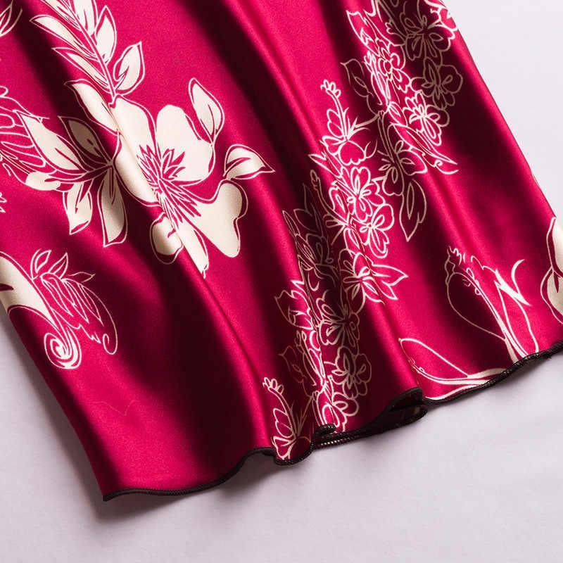 Шелк имитация слинг Lounge Набор сексуальная ночная рубашка для женщин сексуальная одежда для сна женская домашняя Ночная рубашка костюм ночной халат