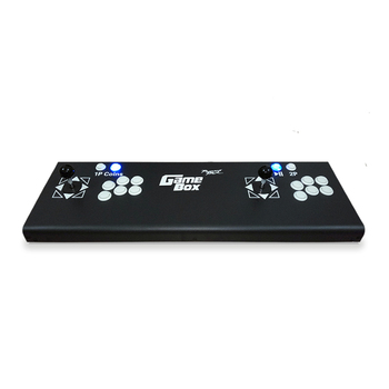 Hot sales Double joystick Consoles with pandora box 9D multi game PCB board,DIY arcade game console 2019 new king of fighters joystick consoles with multi game pcb board 1300 in 1 pandora box 6 arcade joystick game console