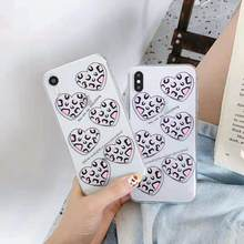 Coréia do Leopard caixa do telefone para iphone XR XS MAX X toy story capa para iphone 8 7 6 6S plus sesame Street fundas coque capa de volta(China)