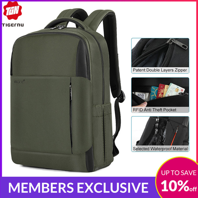 2019 New Fashion RFID Anti Theft Men 15.6 inch Laptop Backpack USB Charging Male Female Waterproof Durable School Bags Mochilas