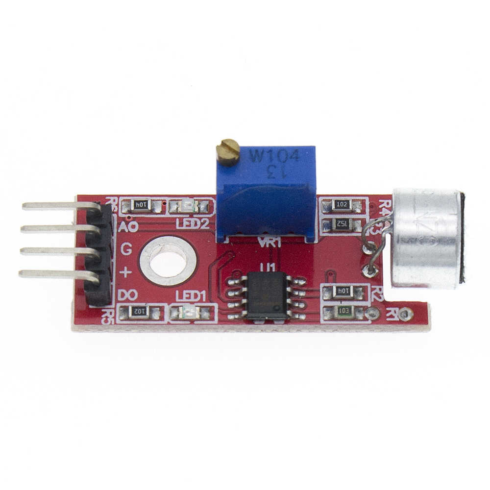 KY-037 Tinggi Sensitivitas Suara Mikrofon Deteksi Sensor Modul UNTUK ARDUINO AVR PIC