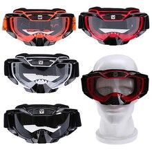 POSSBAY Gafas de esquí para motocicleta MX, Gafas para deportes al aire libre, para Motocross