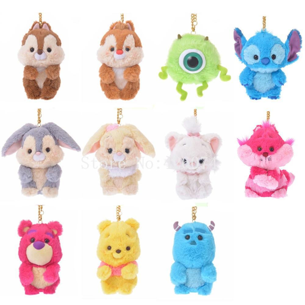 New Toy Story 4 Lotso Huggin Bear Hamm Figure Keychains Keyrings Kids Xmas Gift