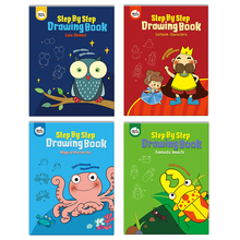 1PCS New Cartoon coloring book For Children Adult Relieve Stress Kill Time Graffiti Painting Drawing Art Book Gifts for children