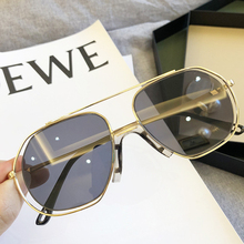 2020 Luxury Brand Men Sunglasses Hollow Out Frame Alloy Sun