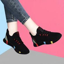 2020 nova primavera mulheres sapatos casuais respirável malha plataforma tênis nova moda tênis de malha sapatos mulher tenis feminino