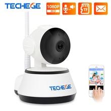 Techege 1080P HD IP 카메라 무선 Wifi 유선 2MP 비디오 감시 야간 투시경 홈 보안 카메라 네트워크 실내 Yoosee