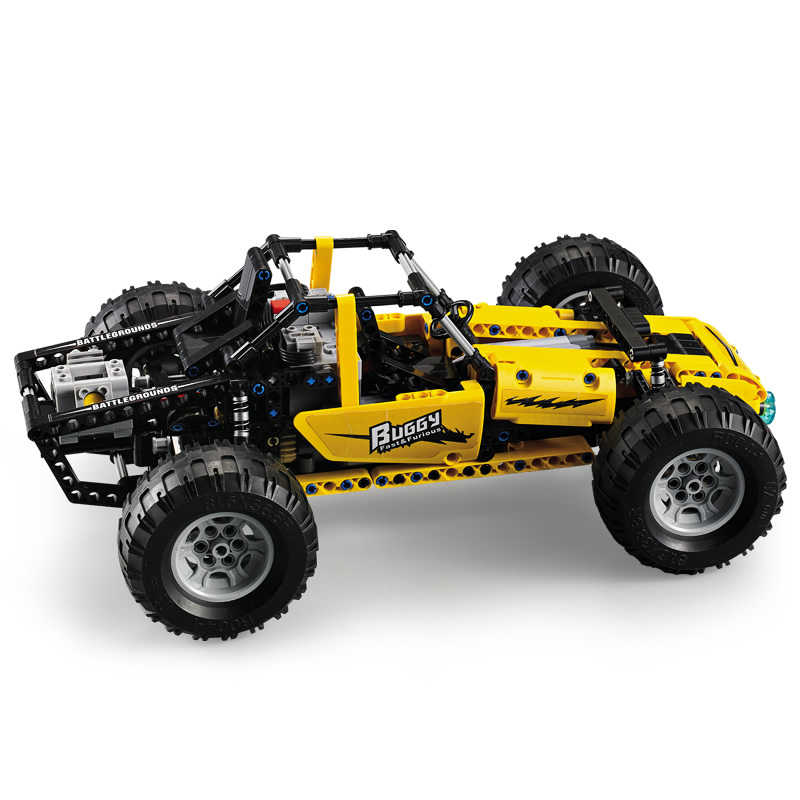 522 Pcs Serie Technic Buggys Rc Auto Building Blocks Compatibile Legoed 2.4G di Telecomando di Telecomando Modello di Auto da Corsa Giocattoli per bambini