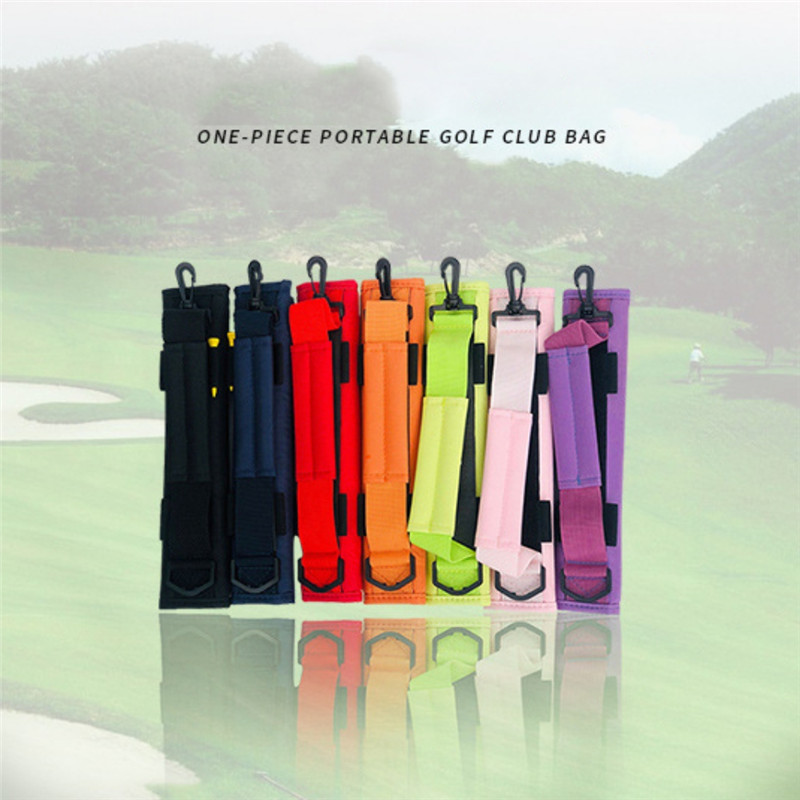 Golf Club Bag Carrier Driving Range Travel Gfit Color Black Blue Pink For Kids Men Women Value Pack