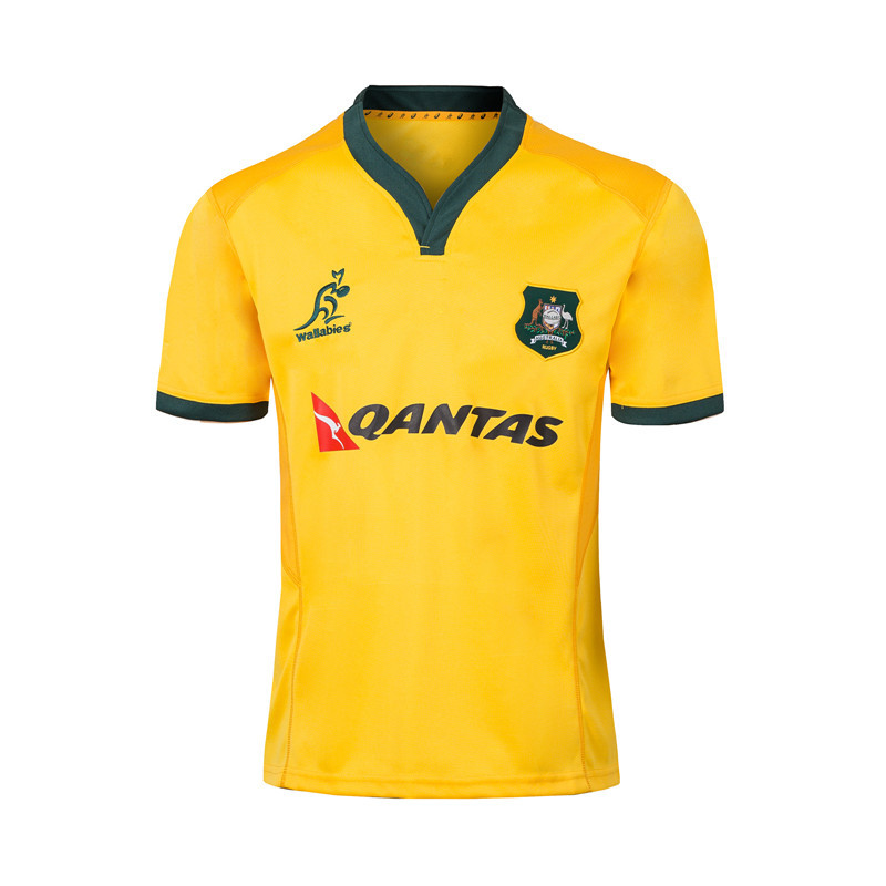 2018-19 Breathable Australia Jersey Rugby Jersey Australia Rugby Jersey