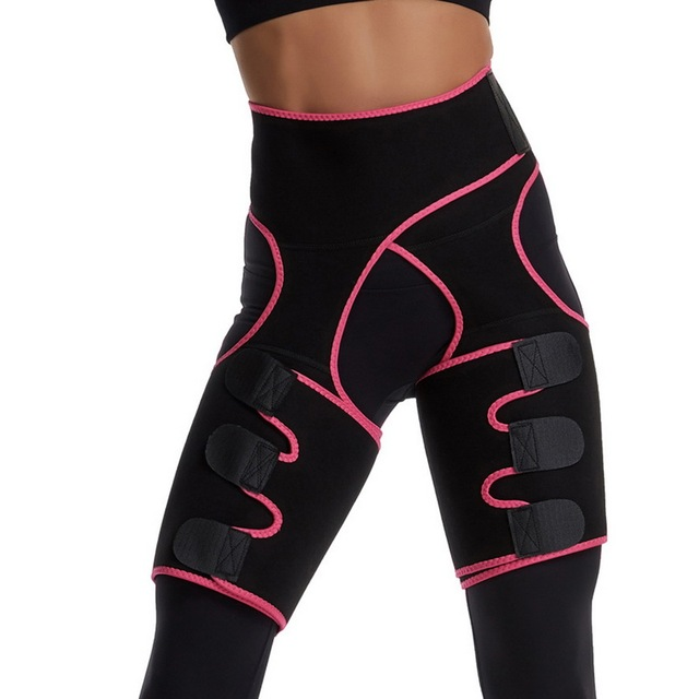 NEW Thing Waist Wrap Neoprene Thigh Shaper Sweat Thigh Trimmers Leg Shaper Lose Weight Slimming Belt Butt Lifter Compress Belt