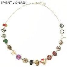 Collier de super-héros en métal, univers fantastique, soldat d'hiver/Loki, breloque, collection de héros, haute qualité, design Original, pendentif à la mode