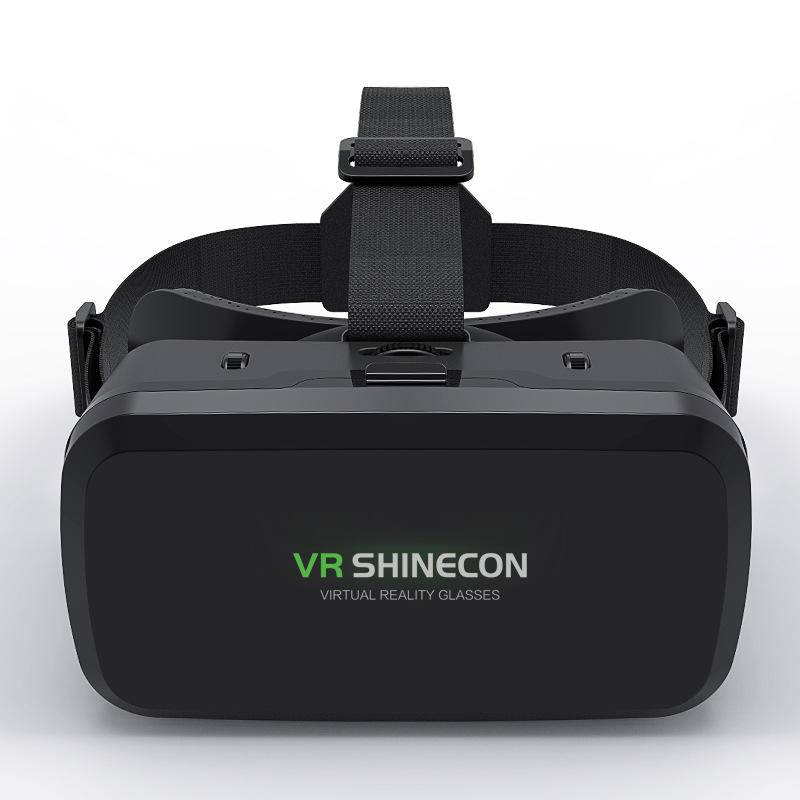VR Shinecon G06A VR Glasses helmet 3D Glasses Virtual Reality Glasses VR Headset for 4.7-6.0 inches Android iOS Smart Phones