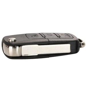 Image 4 - Étui à clé pour Vw Jetta Golf Passat coccinelle Polo Bora MK4 siège Altea Skoda 20 pièces/lot