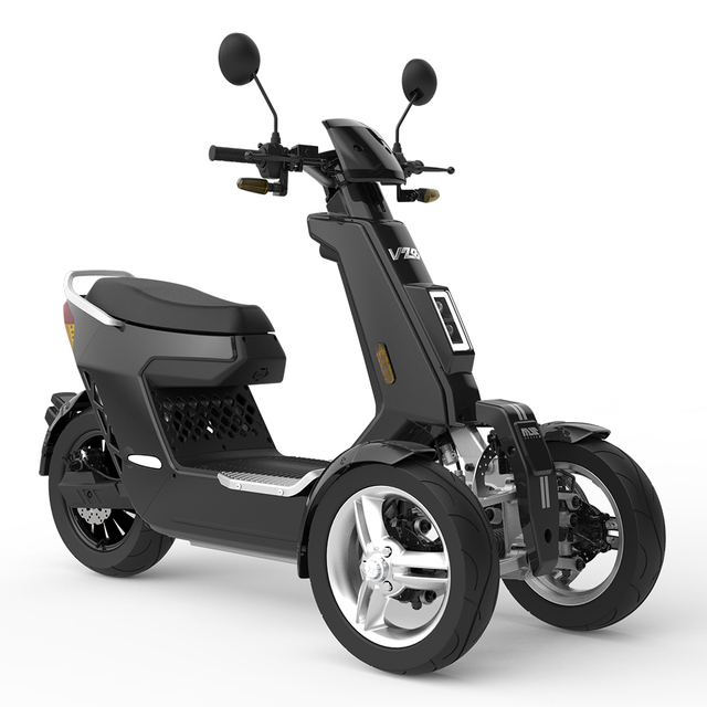EEC Approved Street Legal 3 Wheels Front 2 Wheels Type Electric Motorcycle 3000W 72V40AH Electric Mobility Scooter Off Road 1