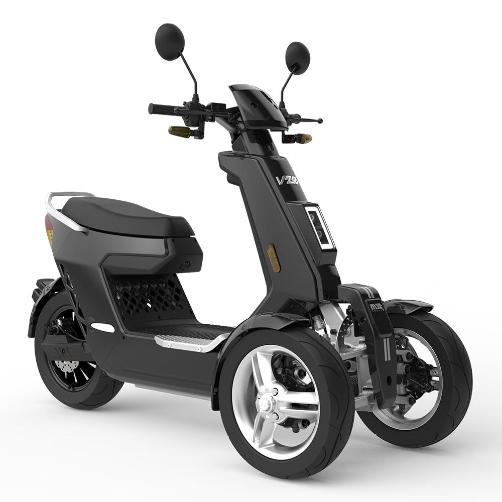 EEC утвержден допущенный к эксплуатации 3 колеса спереди 2 колеса Тип электрический мотоцикл 3000 Вт 72V40AH электрический скутер внедорожный
