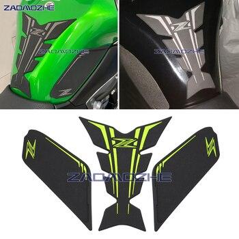 Accesorios de la motocicleta tanque de tracción de Gas en el lado de la rodilla agarre Protector antideslizante de La etiqueta engomada para kawasaki Z900 2017 de 2018 a 2019