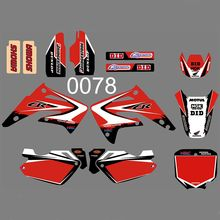 for Honda CR85R CR85 2003 2004 2005 2006 2007 2008 2009 2010 2011 2012 CR 85 85R Graphics Decals Stickers Custom Number Name