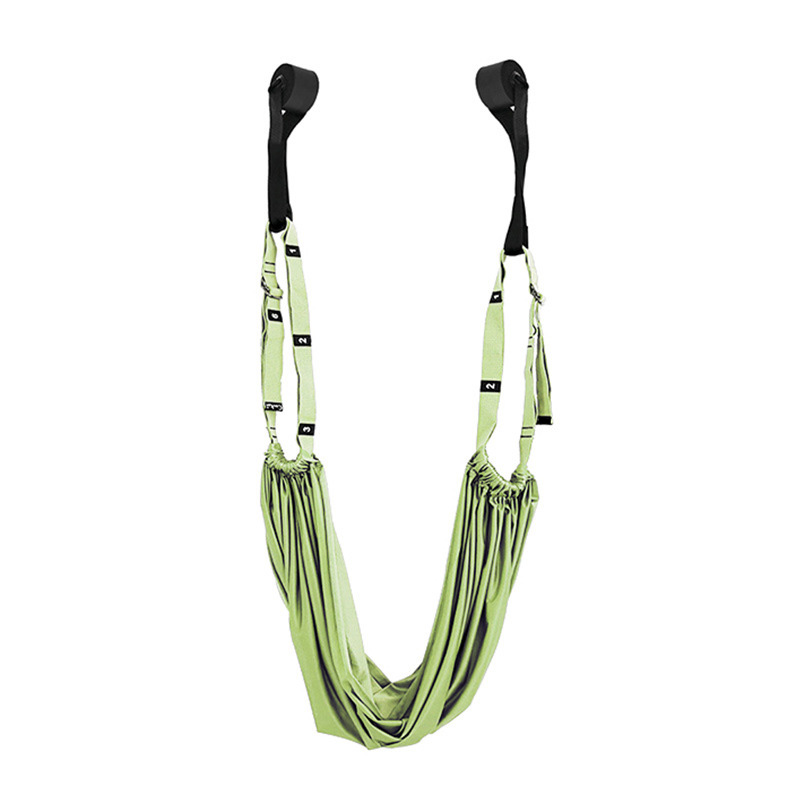 Green - Flexible stretch yoga belt