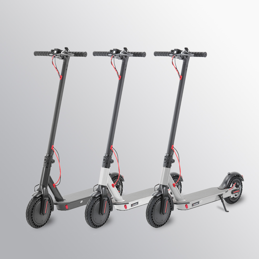 2019 iScooter <font><b>Electric</b></font> <font><b>Scooter</b></font> Smart Folding With LED Light 2 Wheels <font><b>Electric</b></font> <font><b>Scooter</b></font> <font><b>250W</b></font> 7.8AH <font><b>Electric</b></font> Skateboard long-board image