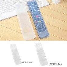 Водонепроницаемый прозрачный силиконовый дистанционный чехол для пульта держатель чехол для ТВ кондиционер пульт дистанционного управления