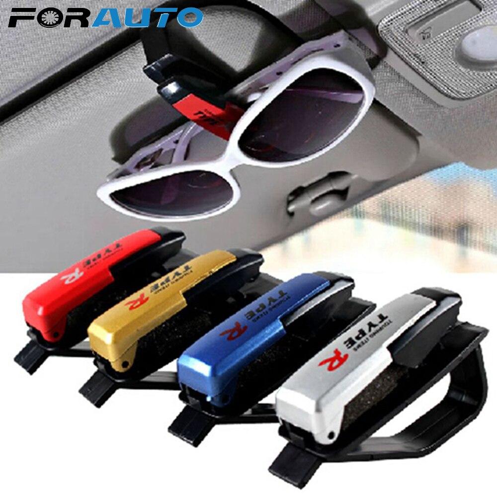 Clip Sunglasses-Holder Car-Sun-Visor Portable Cases Ticket-Card-Clamp Fastener Universal
