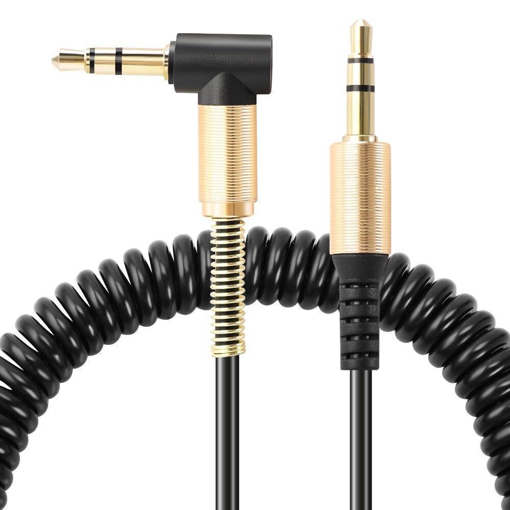 3,5 мм пружинный аудио кабель, автомобильные аксессуары для BMW E60 E90 E92 E70 E71 E72 E82 E87 E88 E89 X1 X2 X5 X6 X7 1 3 5 6 7 серии