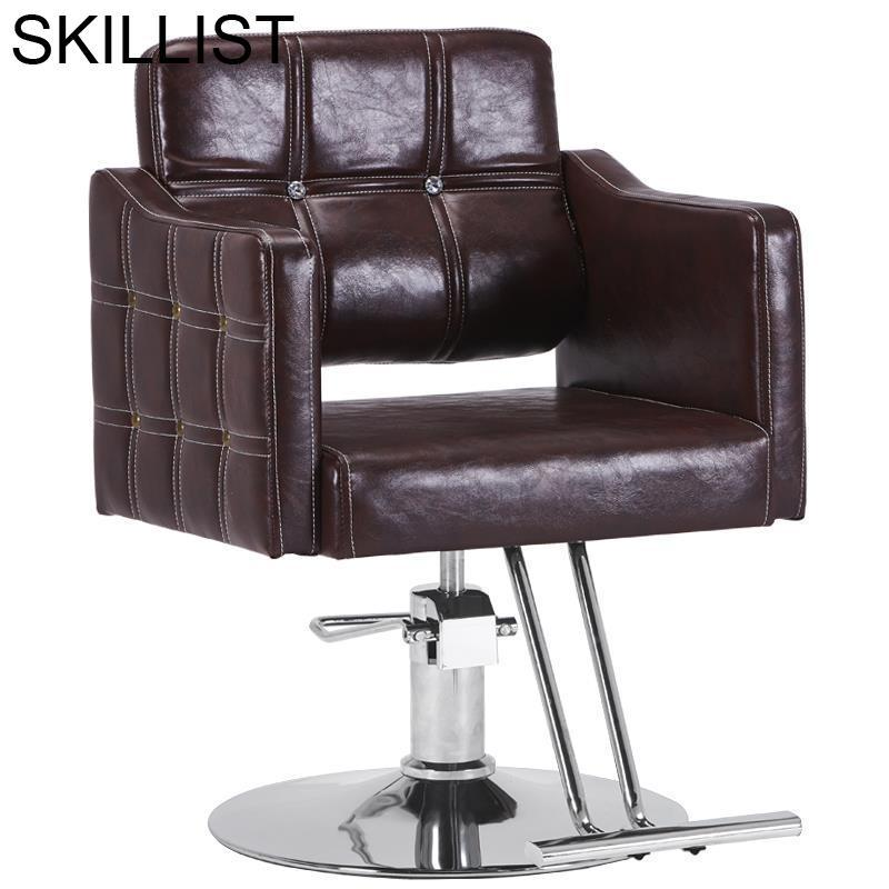 Schoonheidssalon Chaise Sessel Furniture Mueble De Hair Sedia Stoelen Makeup Barbearia Salon Barbershop Silla Barber Chair