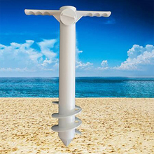 Fixing-Tools Base Patio-Umbrella Plastic Beach Anchor-Stand Ground Sand Sun Spike Auger