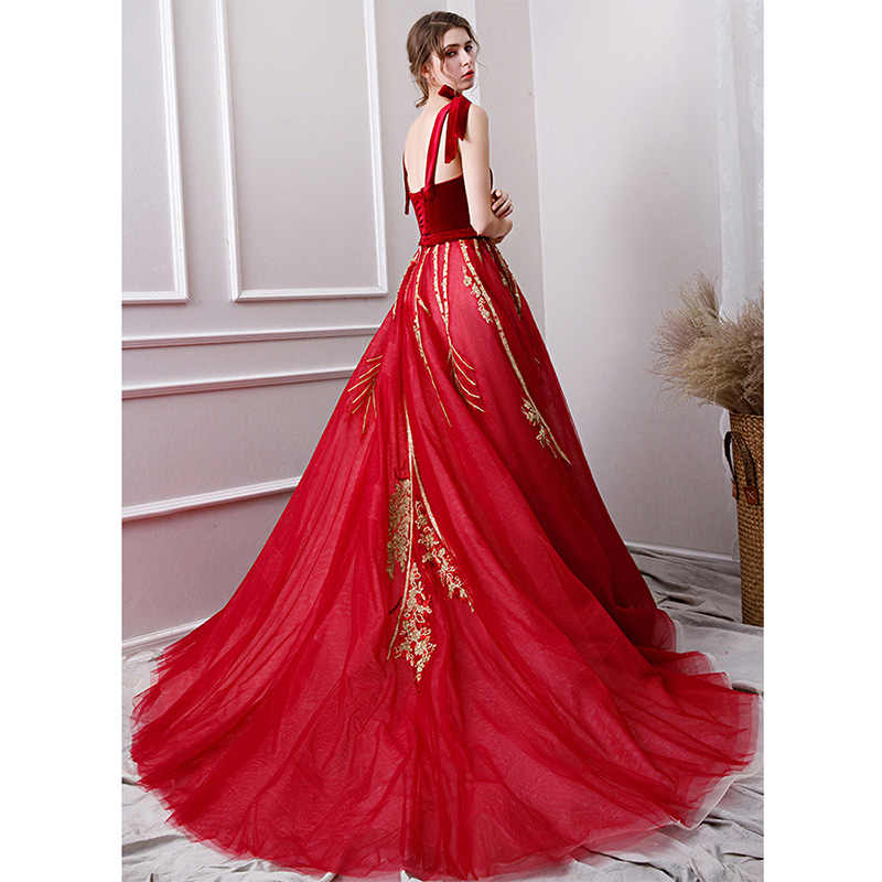 It's Yiya вечернее платье с квадратным вырезом и бантом на тонких бретельках Женские вечерние платья без рукавов бальное платье Robe De Soiree V112