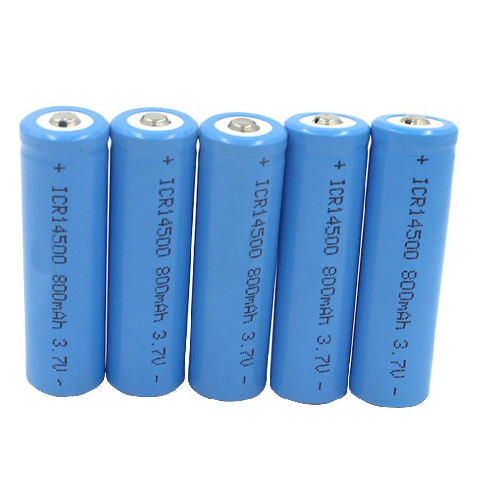 U-KIME ICR14500 800mAh 3.7V AA li-ion battery