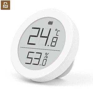 Image 1 - Sensor de temperatura Youpin Cleargrass Bluetooth Hu mi, almacenamiento de datos, pantalla de tinta e link, termómetro, medidor de humedad, aplicación Mi