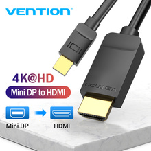 Vention Mini DisplayPort to HDMI Cable 4K HD Thunderbolt 2 HDMI Cable Converter for TV MacBook Air 13 iMac Mini DP to HDMI Cable aiffect 4k mini dp to hdmi cable mini displayport to hdmi cable thunderbolt port hdmi mini dp cable cord line premium version
