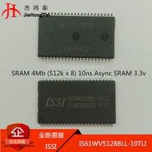 100% новый и оригинальный IS61WV5128BLL-10TLI TSOP44 4 Мб CMOS Оперативная память в наличии