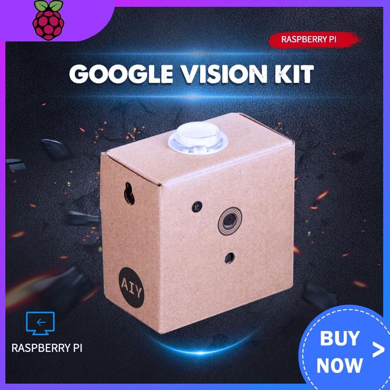 Google Vision Kit AIY Artificial Intelligence Raspberry Pi 0 WH Video Development Kit