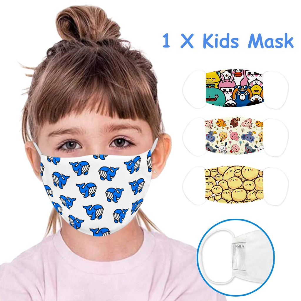 Masks For Children Face Shield for Kids Breathable Face Mask Washable Face Mask Cloth Mouth Caps Outdoor Reuseable mascarillas