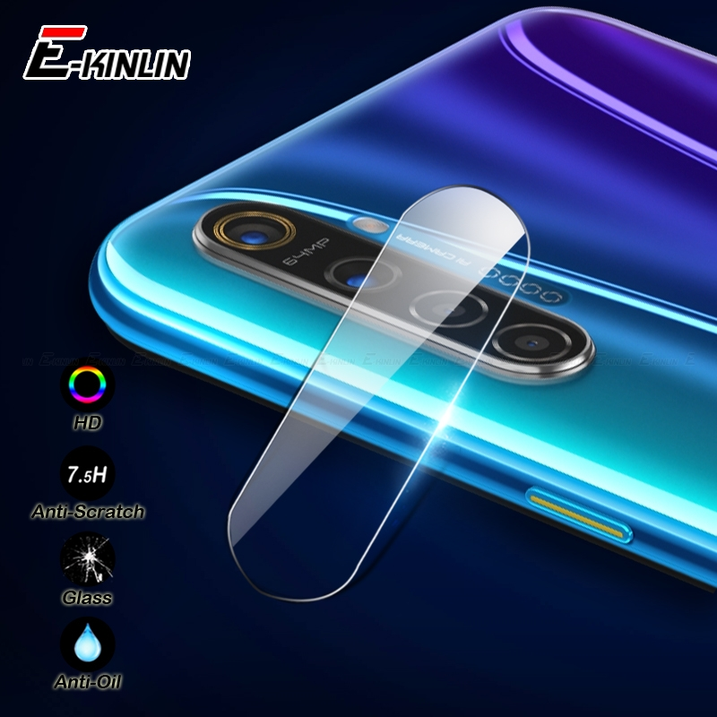 Clear Back Camera Lens Protective For OPPO Realme 1 2 3i 3 5s 5 Pro C2 Q XT X2 X Lite Tempered Glass Screen Protector Film