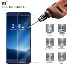 25 Pcs Tempered Glass For CUBOT A5 MTK6735 Screen Protector 2.5D 9H Premium Tempered Glass For MTK6735 Protective Glass Film premium protective film for cubot p12 smartphone
