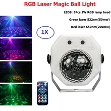 цена на Stage Effect Disco Laser Light RGB Projector Party Lights DJ Lighting Effect for Sale LED for Home Wedding Decoration Show Luzes