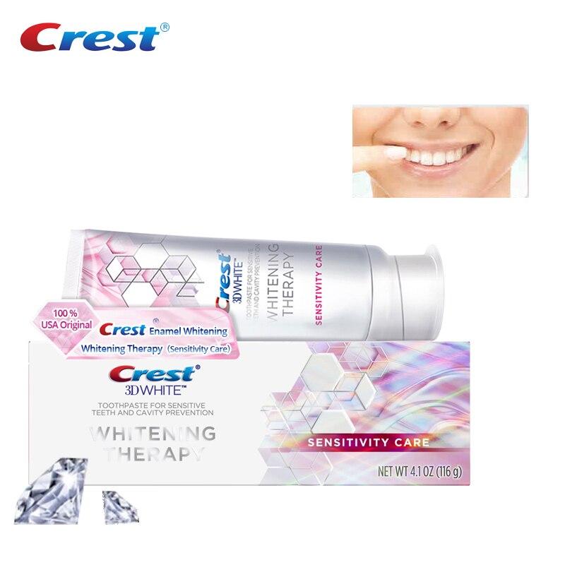 Crest 3d Toothpaste Sensitivity Care Enamel Original Toothpastes