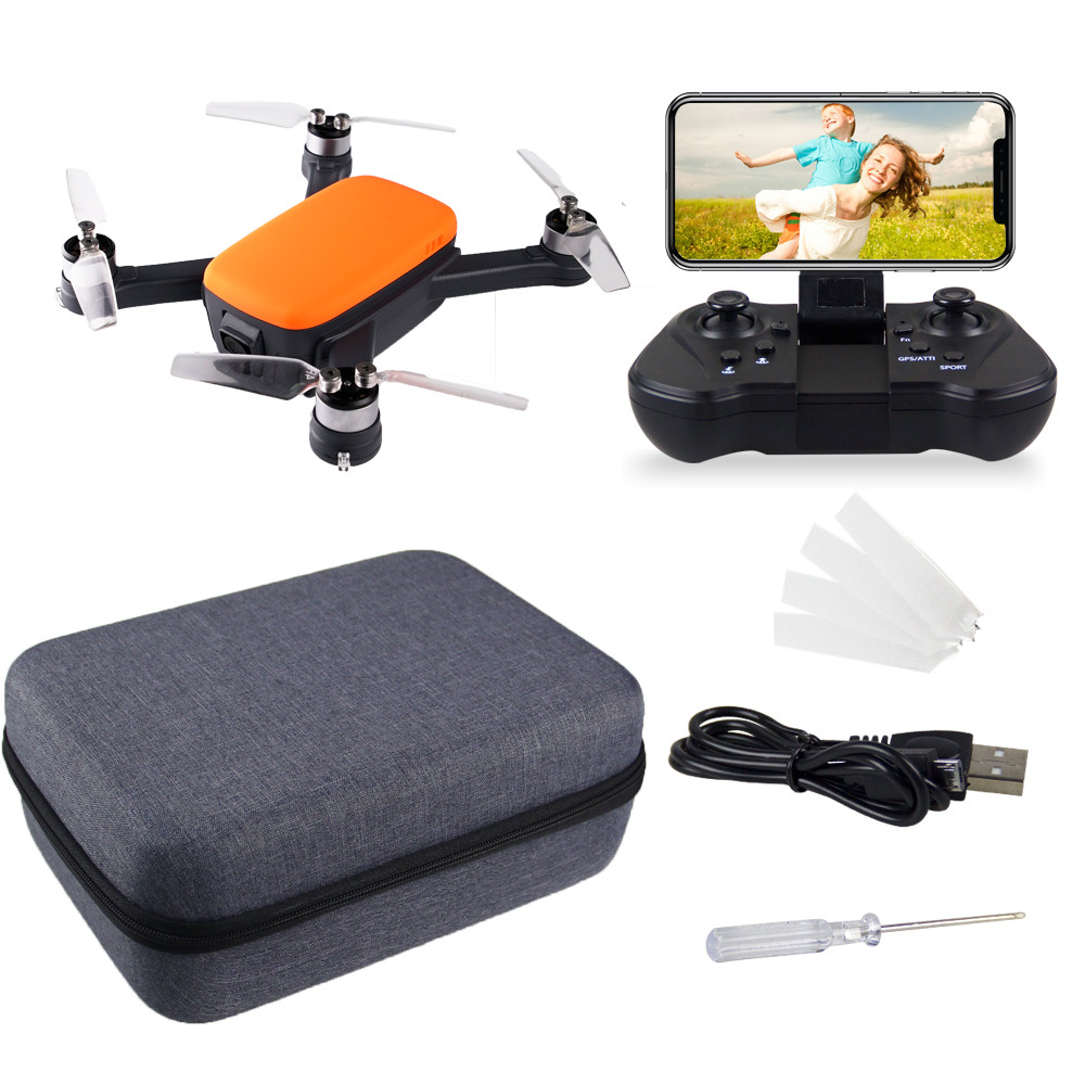 Drone with camera and GPS MINI RC Quadcopter FPV 1080P HD 5G WIFI brushless motor back home aerial photography camera aircraft|RC Helicopters| |  - title=