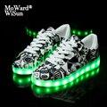 Размер 27-37 светящиеся кроссовки с корзиной и подсветкой Спортивная повседневная обувь детская обувь для мальчиков и девочек с подсветкой  с...