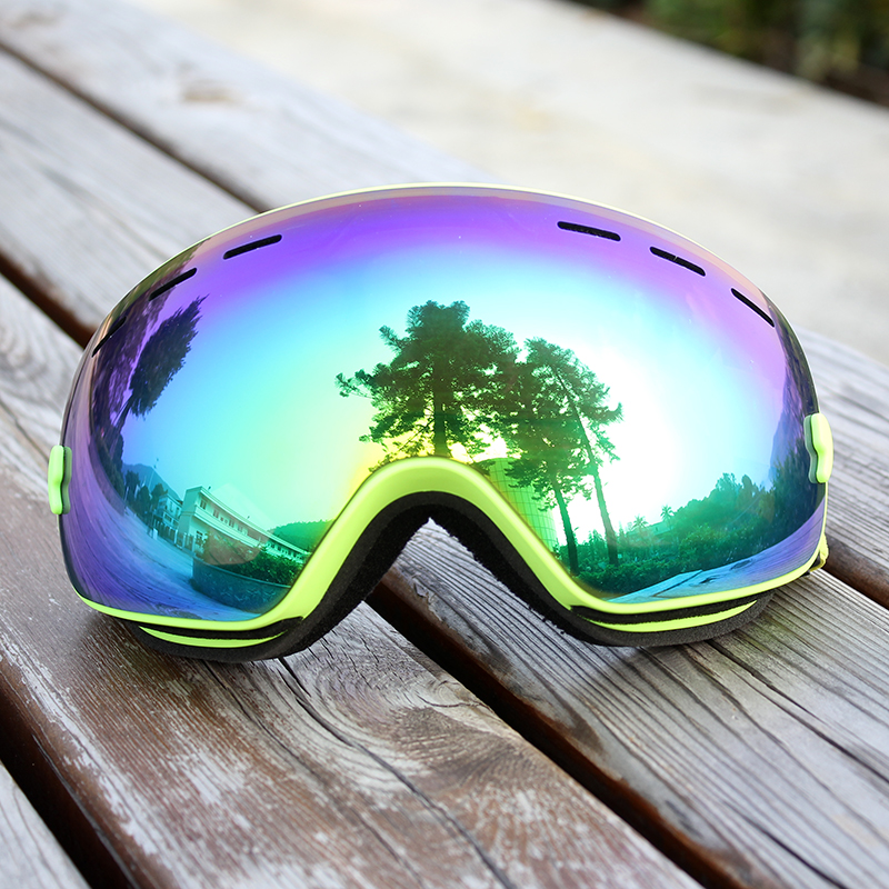 Professional Ski Goggles Snowboard Men Women Double Layers Anti-fog Skiing Glasses Snow Mask Skate Eyewear Ski Googles