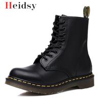 Doc Men Shoes Mens Winter Snow Boots Martins Man Leather Shoe Ankle Bot Cowboy Waterproof Motorcycle Casual Coturno Botas Hombre