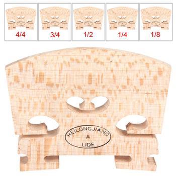 Drewno klonowe mostek do skrzypiec zwykły typ 1 8 i 1 4 i 1 2 i 3 4 i 4 4 rozmiar akcesoria do instrumentów struny skrzypcowe most część narzędzia tanie i dobre opinie IRIN EPC_MIA_108 Acoustic Maple wood Light brown 1 8 1 4 1 2 3 4 4 4 violin 1 X Maple Violin Bridge Regular